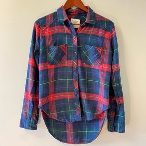 Abercrombie & Fitch Women's Plaid Tunic Sz S